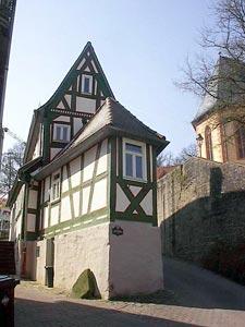 Schmalstes Fachwerkhaus in Bad Orb